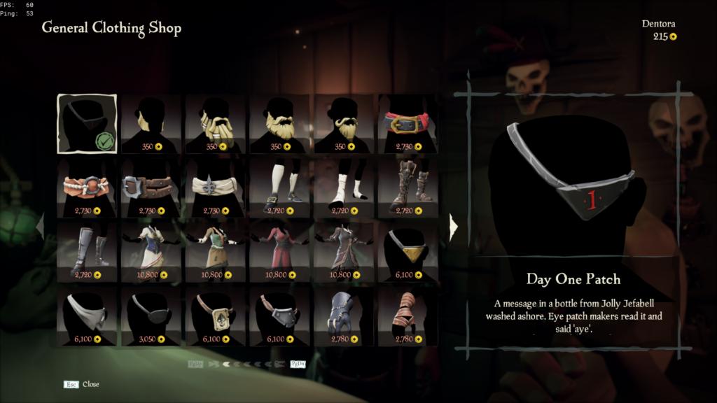 São várias possibilidades de personalização de seu personagem