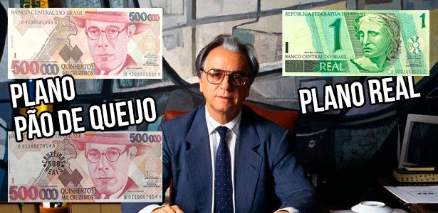 Itamar Franco conseguiu a proeza de ter 3 moedas vigentes em seu mandato