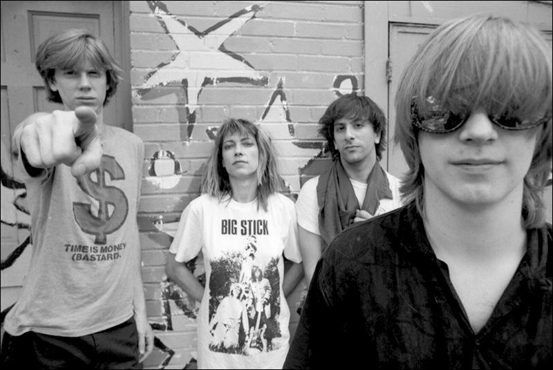 A banda novaiorquina Sonic Youth