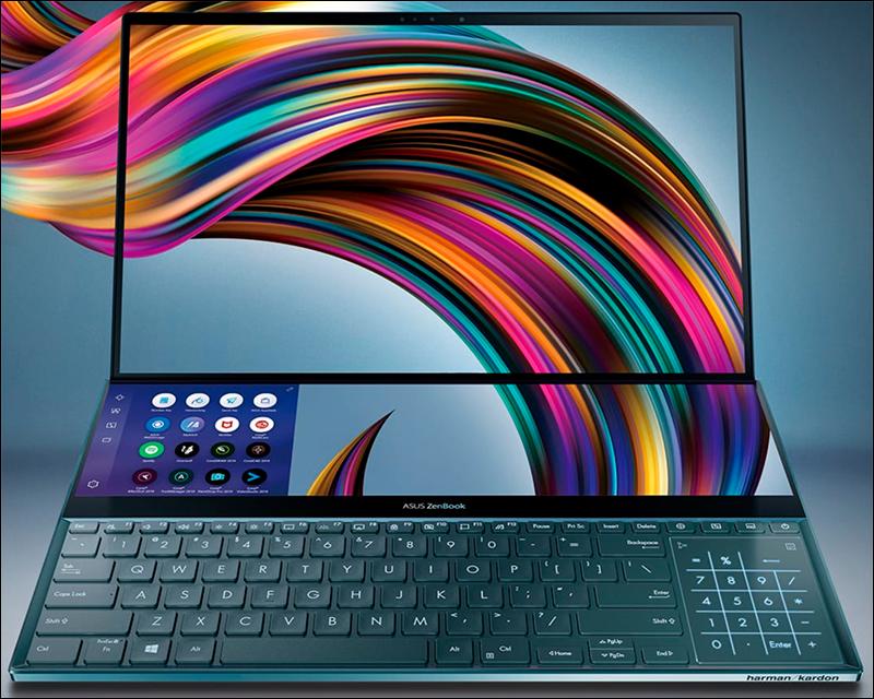ZenBook Pro Duo... incrivelmente fora do comum