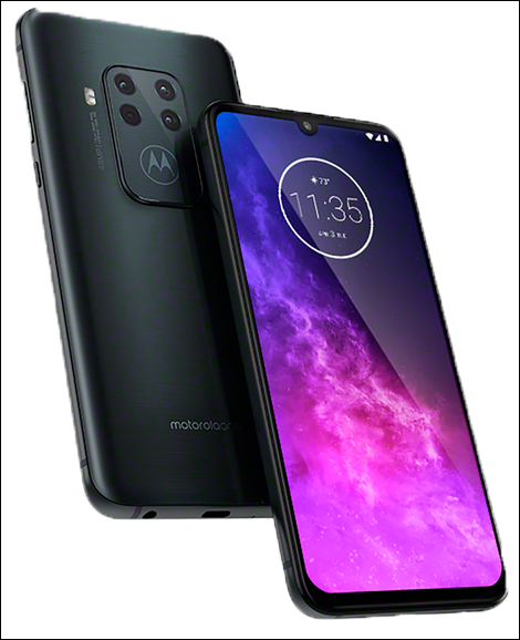 O Motorola One Zoom reforça o apelo para imagens com o conjunto quádruplo de câmeras