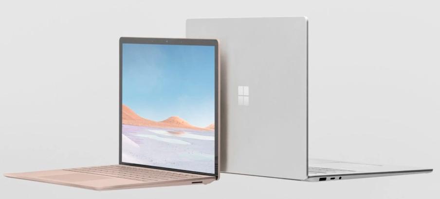 O Surface Laptop 3 nas versões de 13 e 15 polegadas e corpo em alumínio