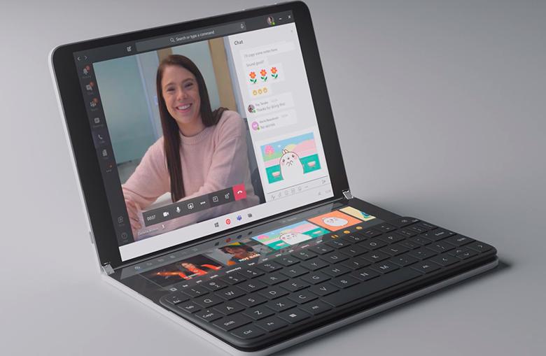 Tablet de tela dupla? Computador 2-em-1? Notebook com tela auxiliar? Este é o Surface Duo