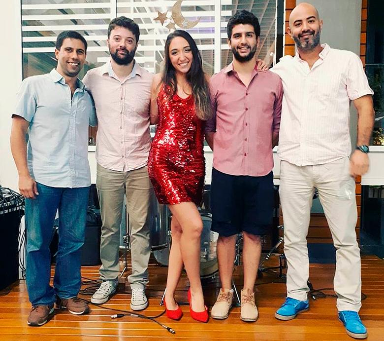 Samba e Amor - Guilherme Fejão, Samy Cassali, Maria Luiza, Lucas de Azevedo e Rafa Marques