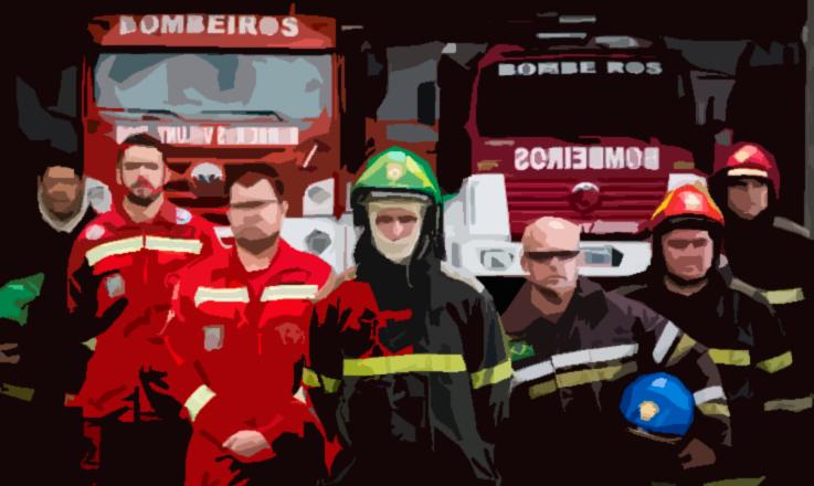 Os bombeiros e a missão de salvar vidas