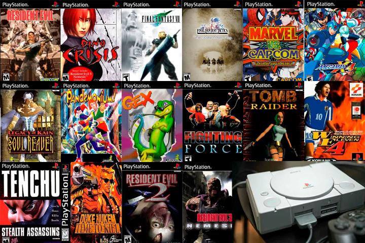 Aqui está a galeria dos meus jogos favoritos no Play Station Original