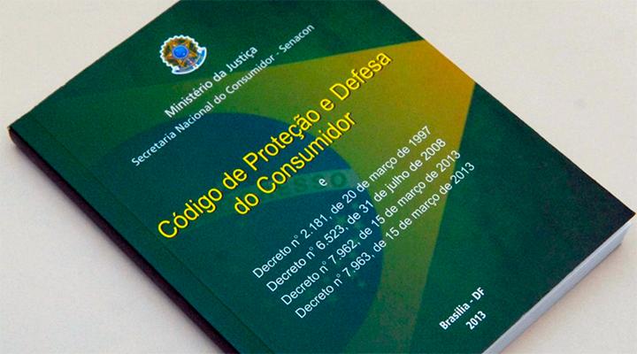 Lei 8078/90 que deu origem ao Código de Defesa do Consumidor - Item obrigatório em todo estabelecimento comercial