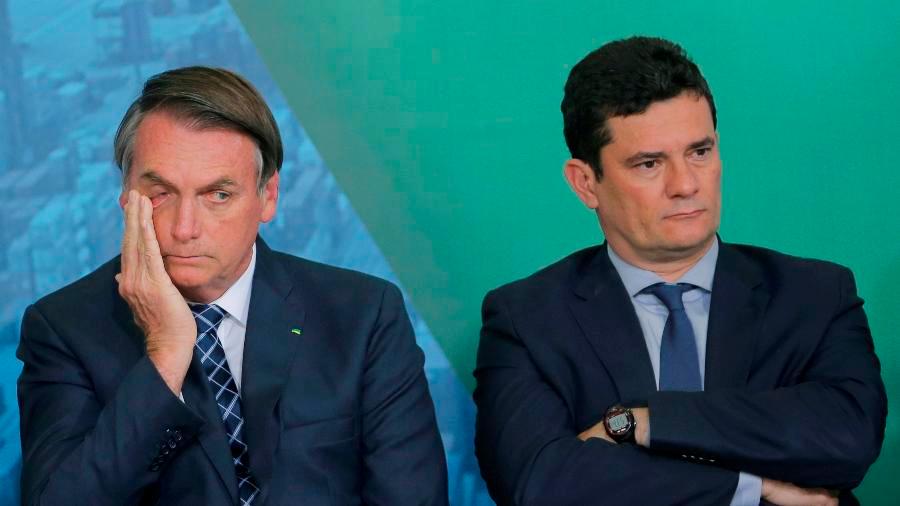 O desentendimento de Bolsonaro e Moro já não é de hoje
