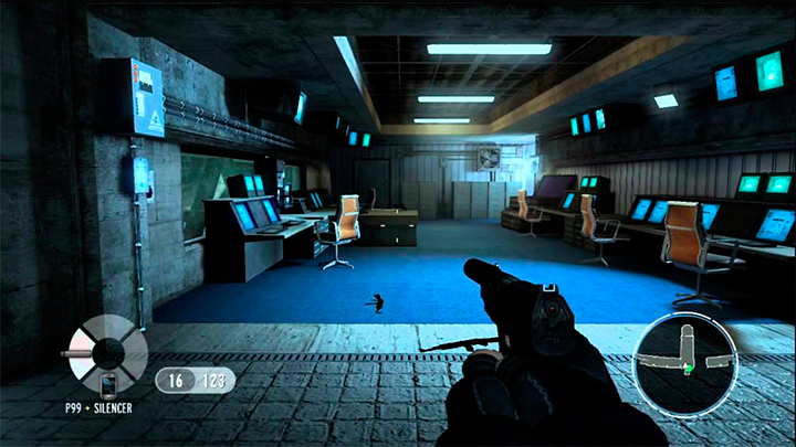 Tela com Gameplay de 007 Goldeneye