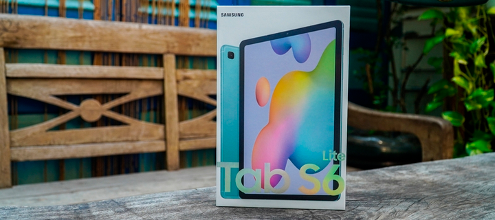 O Galaxy Tab S6 Lite chega para rivalizar com o iPad Air