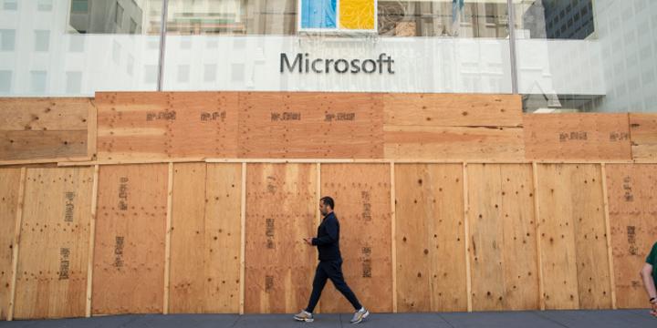 As lojas físicas da Microsoft serão fechadas permanentemente