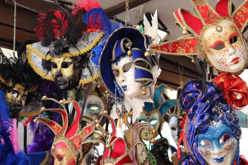 Máscaras do Carnaval de Veneza