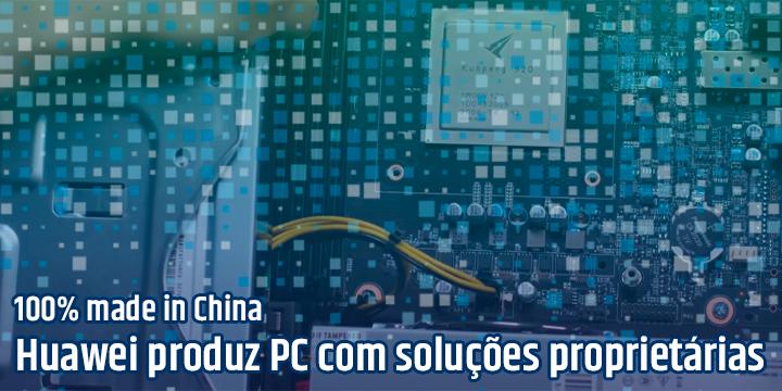 O PC da Huawei com soluções proprietárias para enfrentar o embargo norte-americano