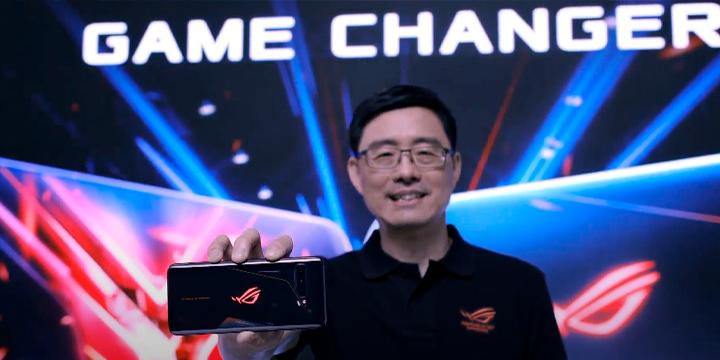 O CEO da ASUS apresentando o novo ROG Phone 3 para o mercado global