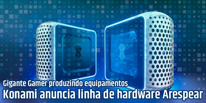 Konami entra no mercado de Hardware