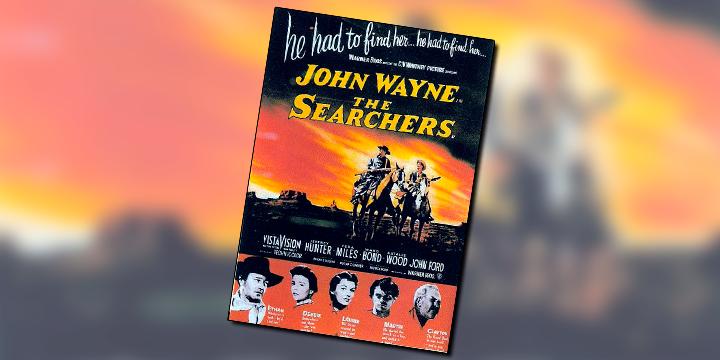 Rastros de Ódio é um dos filmes que definem JOHN WAYNE
