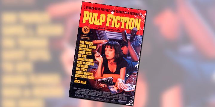 Pulp Fiction... tem tudo para não ser... mas é um clássico