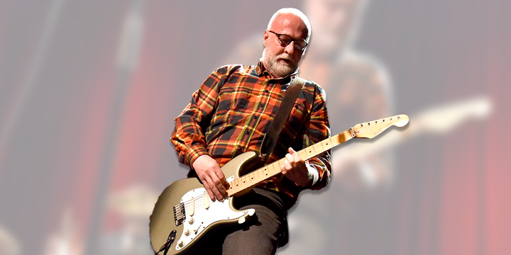 Bob Mould... figurinha carimbada no rock alternativo dos EUA